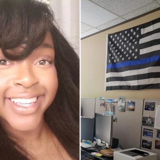 Black Corrections Employee Who Complained About 'Blue Lives Matter' Flag Receives $100,000 Settlement