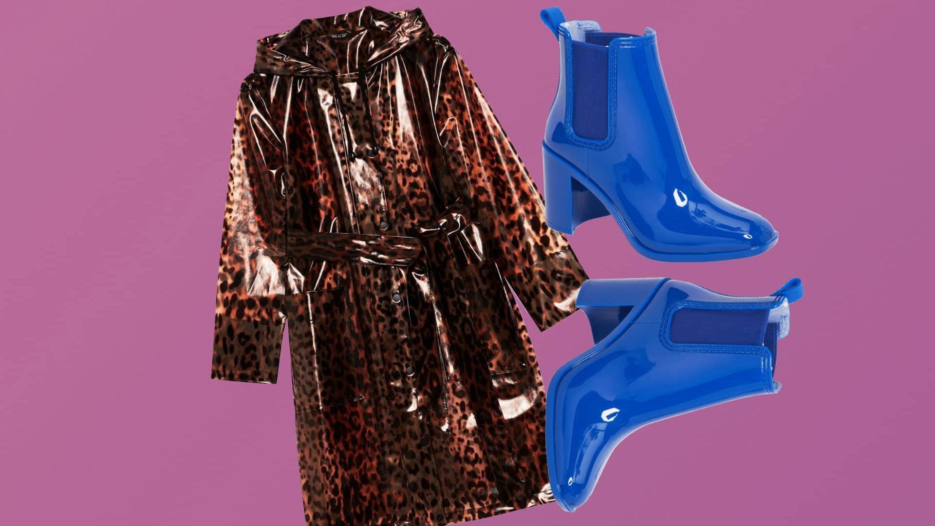 April Showers Are No Match For This Ultra Chic Rain Gear