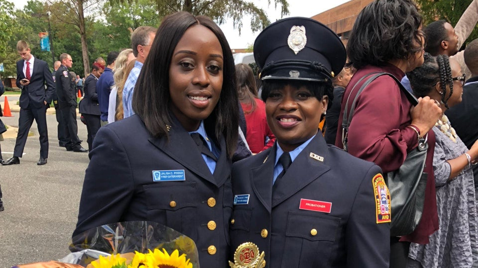 This Mother–Daughter Firefighter Team Is Goals
