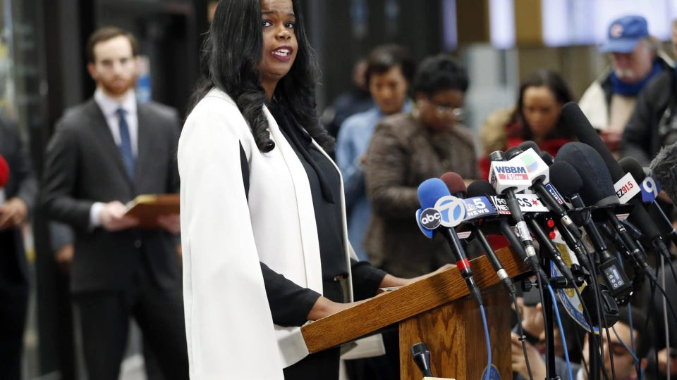 Cook County State's Attorney Kim Foxx Brought All The Receipts To Her Primary Victory Speech In Chicago
