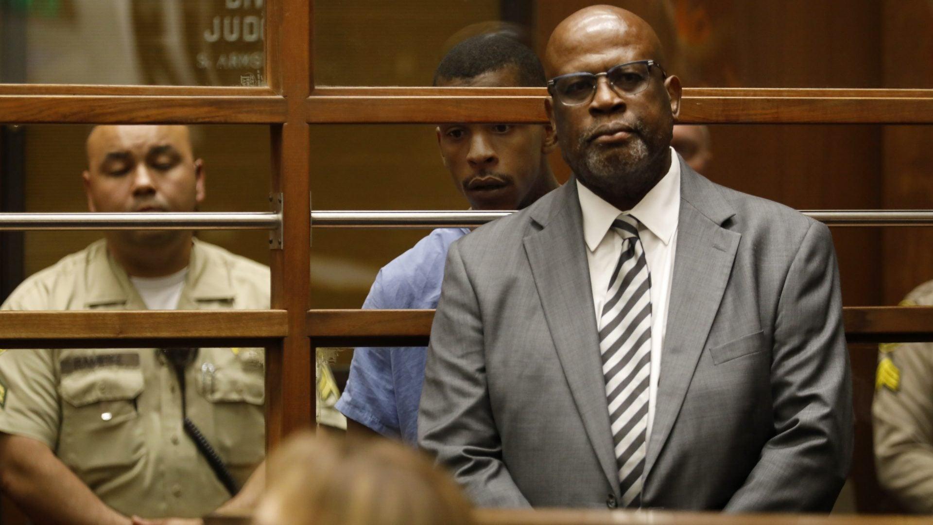 Former OJ Simpson Prosecutor Christopher Darden Is Representing Nipsey Hussle's Alleged Killer