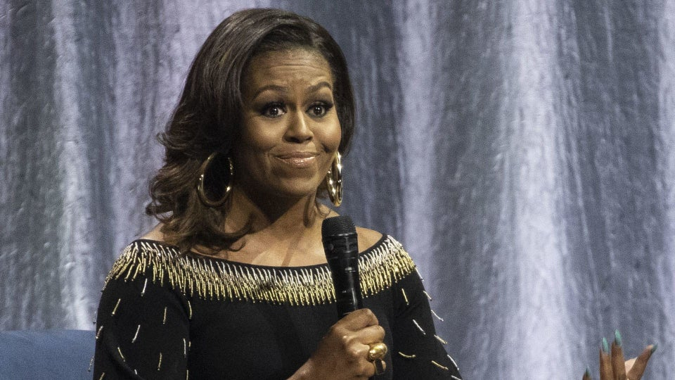 Michelle Obama Says U.S. Under Trump Is Like Living With 'Divorced Dad'