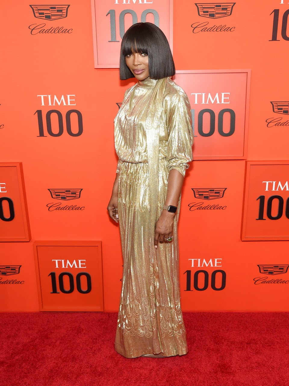 Naomi Campbell, Janet Mock, Tarana Burke and More Celebrities Give Stunning Red Carpet Beauty At The Time 100 Gala