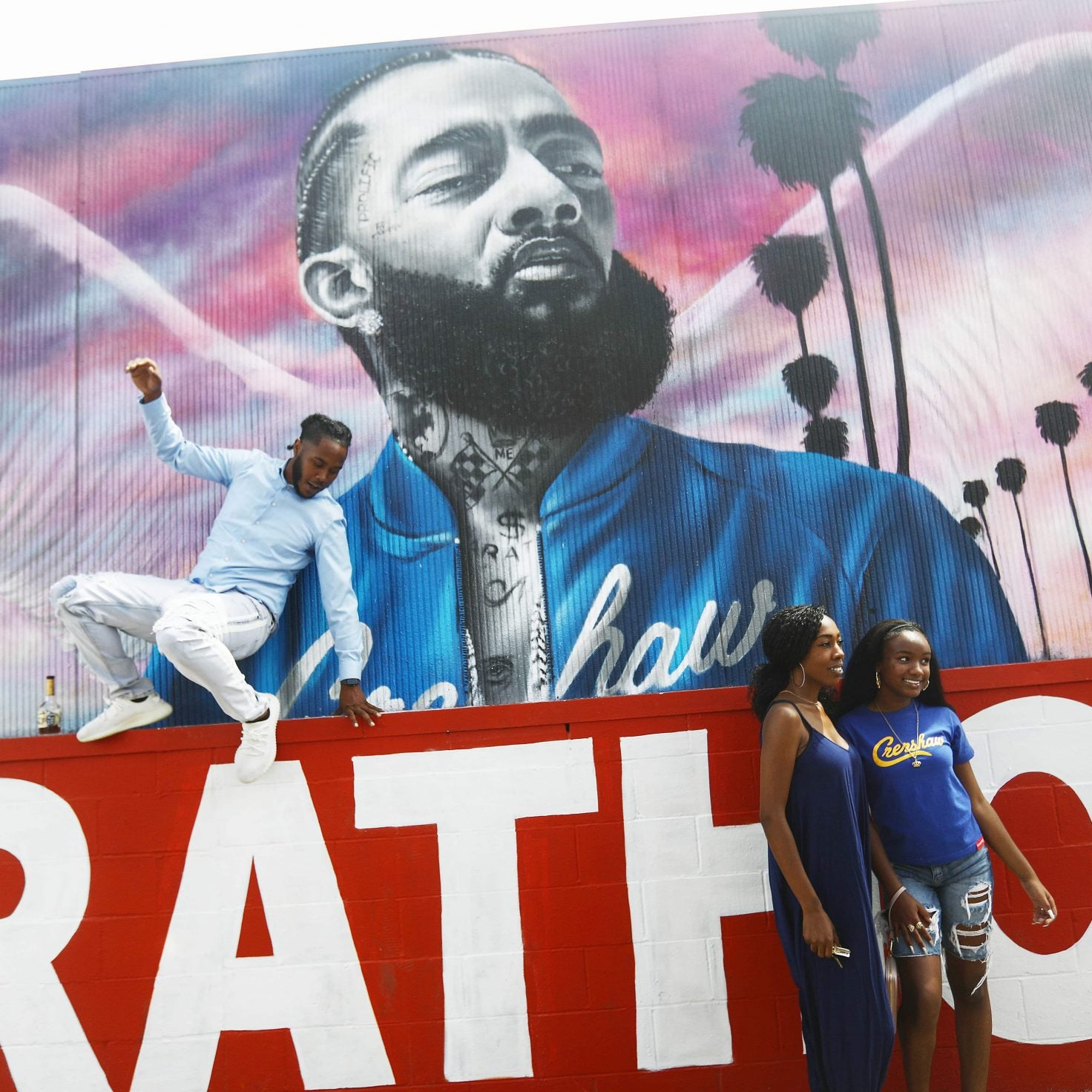 Inside Nipsey Hussle's Memorial Service, A Salute Fit For A King