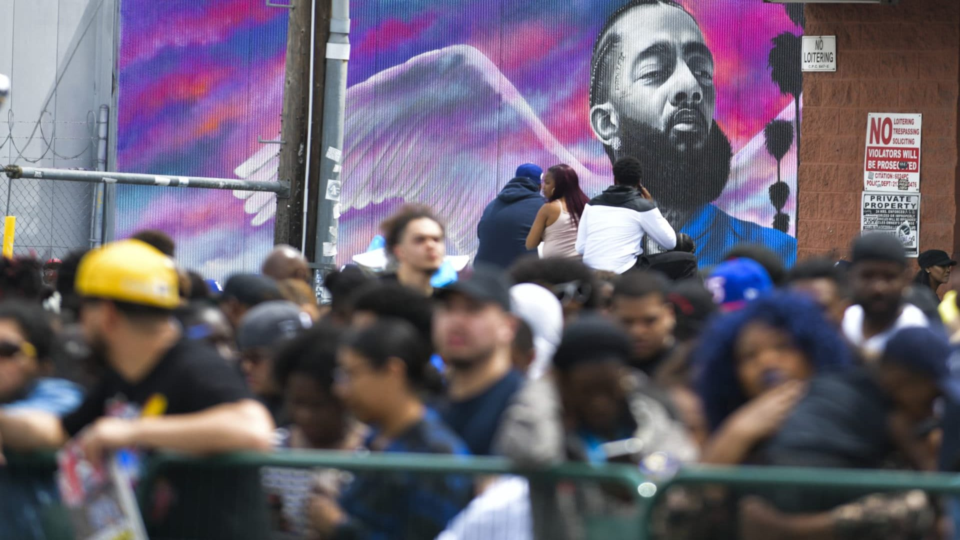 Nipsey Hussle Mural Vandalized In Hartford, Connecticut