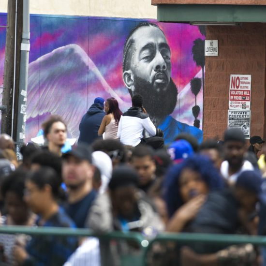 'Not His Face!' Nipsey Hussle Mural Vandalized