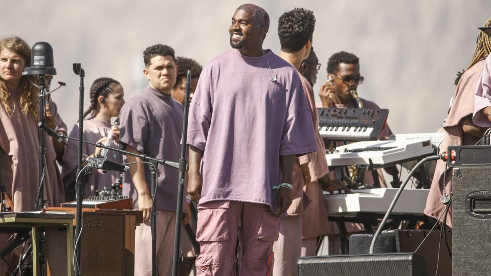 Kanye West Takes Coachella To Church On Easter Sunday