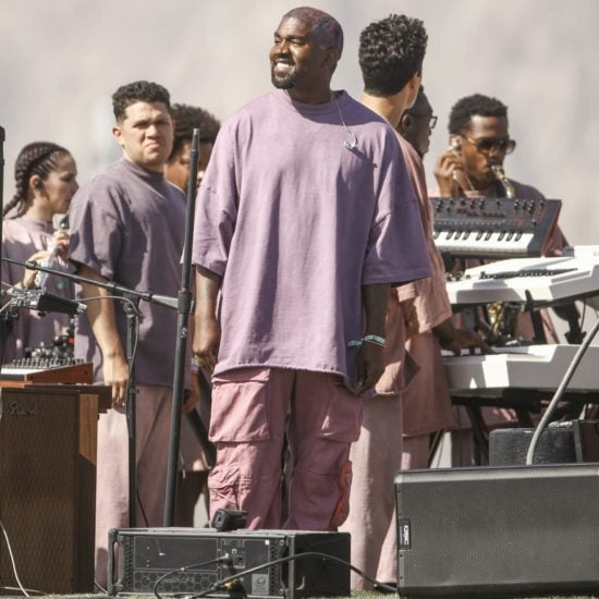 Kanye West Takes Coachella To Church On Easter Sunday