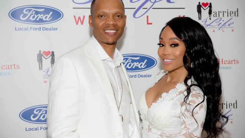 Shamari and Ronnie DeVoe Encourage Couples To Stay United During the Annual 'Married 4 Life Walk' In Atlanta