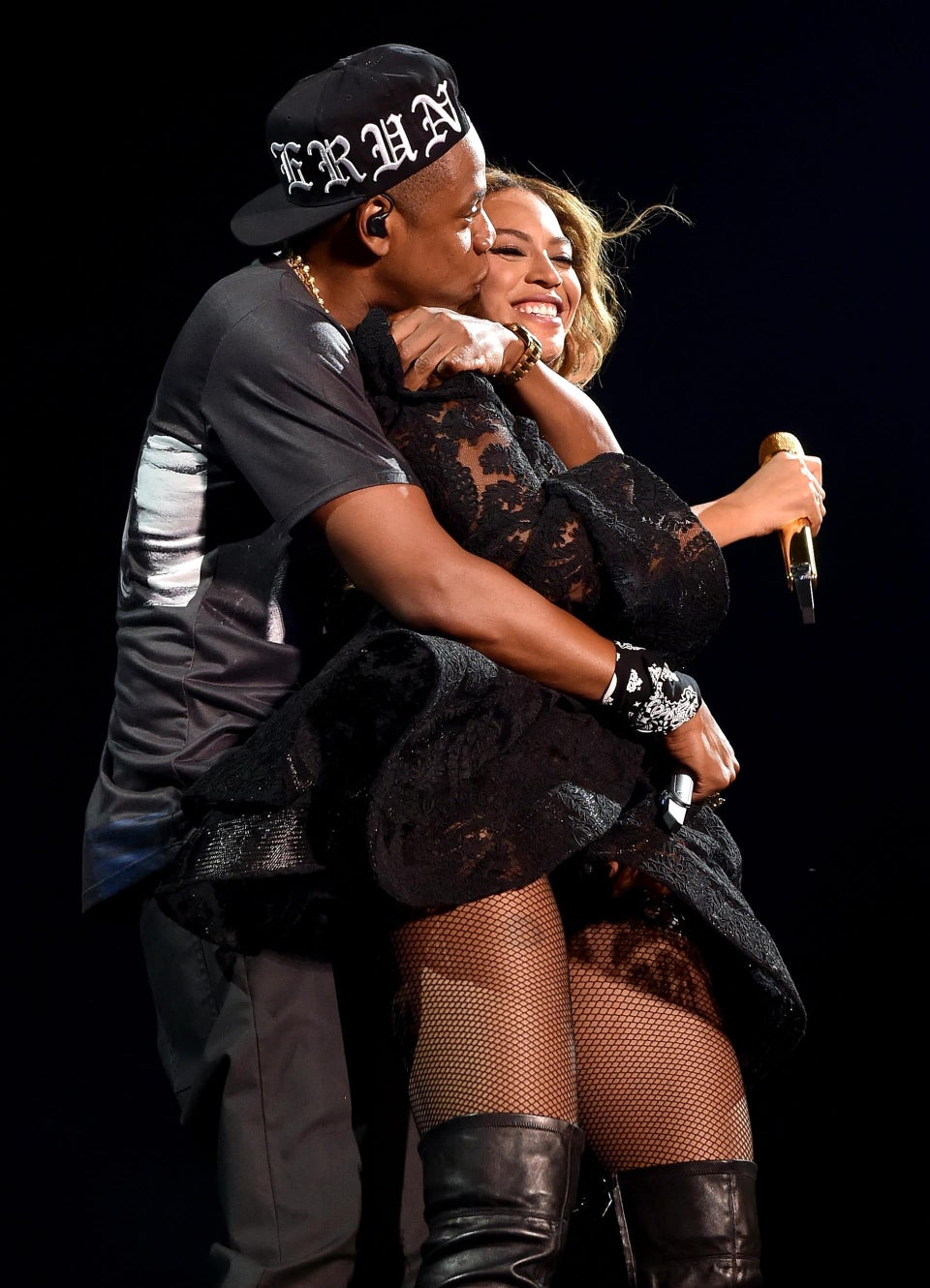 11 Photos of Beyoncé and Jay Z Looking Crazy In Love