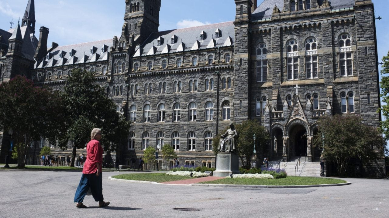 Georgetown University Students Vote In Favor Of Slavery Reparations Fund