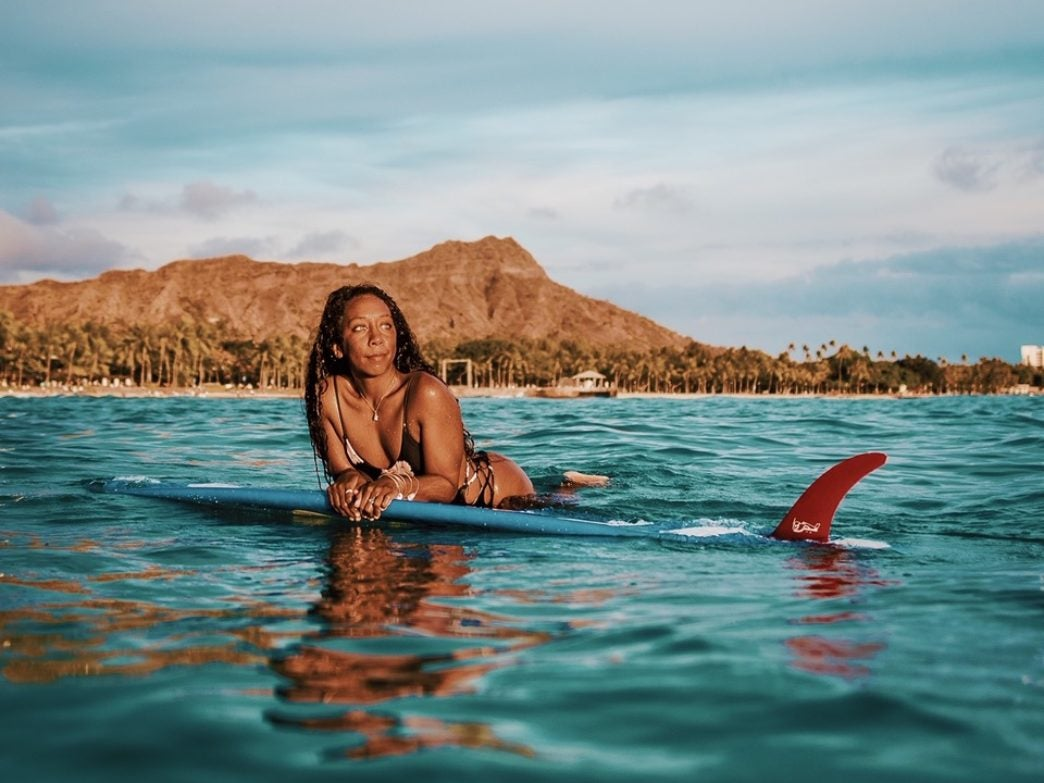 Black Travel Story: Nique Miller on Conquering Waves And Embracing Her Black Girl Magic