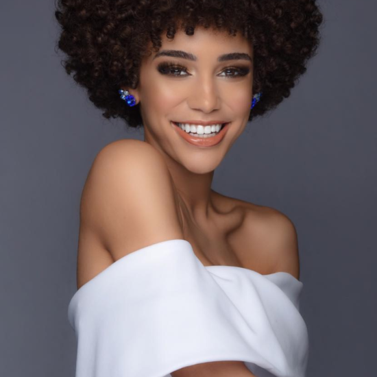 Kaliegh Garris Takes Miss Teen USA Crown Rocking Her Natural 'Fro