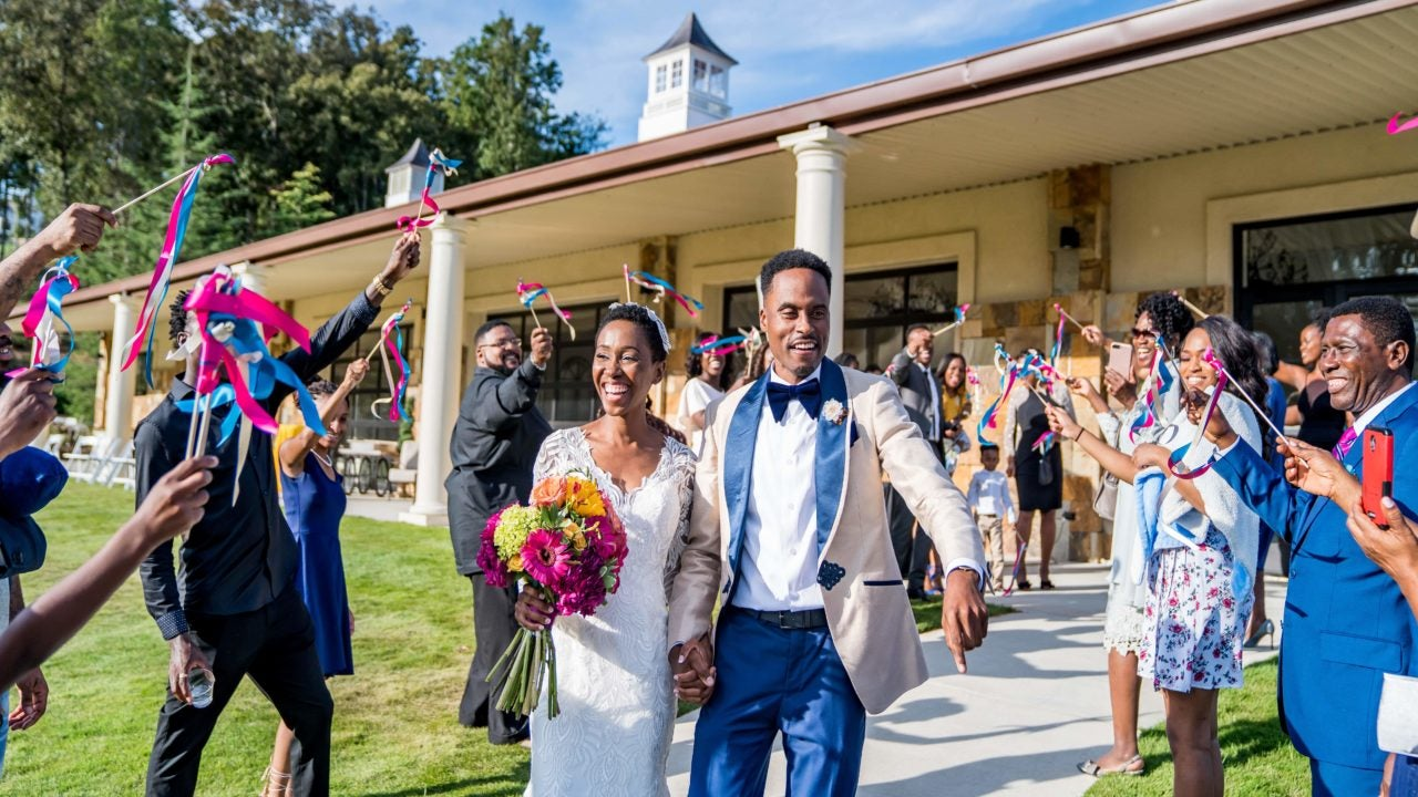 Bridal Bliss: Yaaas, Love! Edna and Eric's Georgia Wedding Just Dripped With Style - Essence