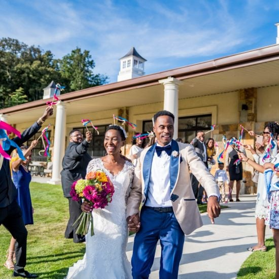 Bridal Bliss: Yaaas, Love! Edna and Eric's Georgia Wedding Just Dripped With Style