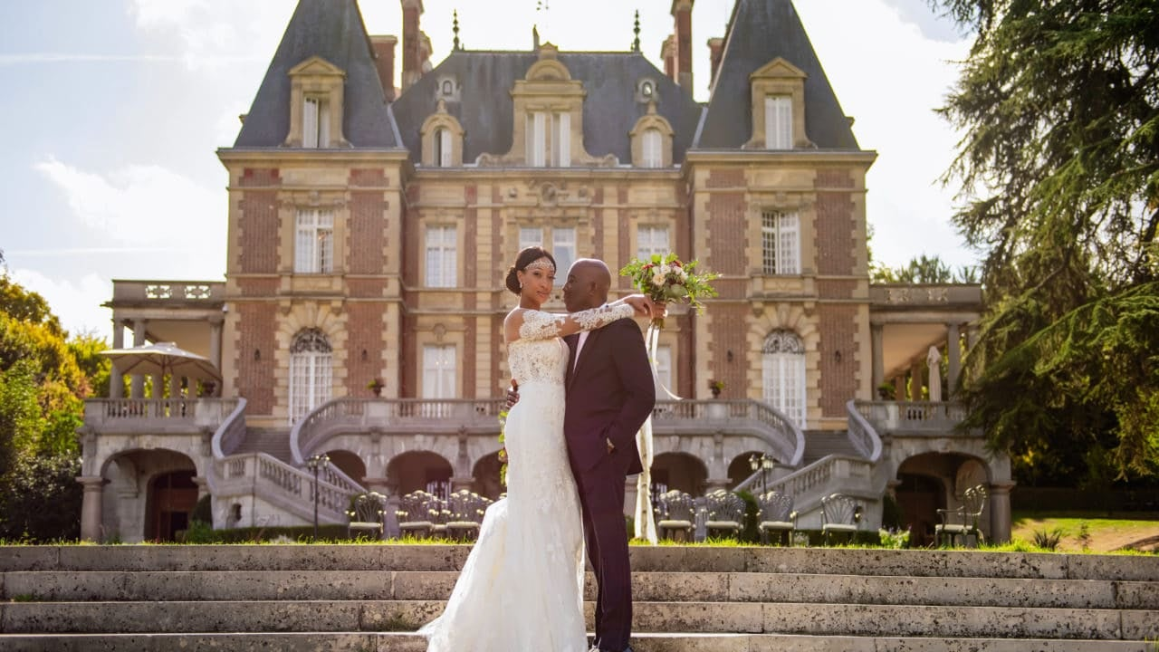 Bridal Bliss: Lena and Adrian's Parisian Wedding Wins The Day - Essence