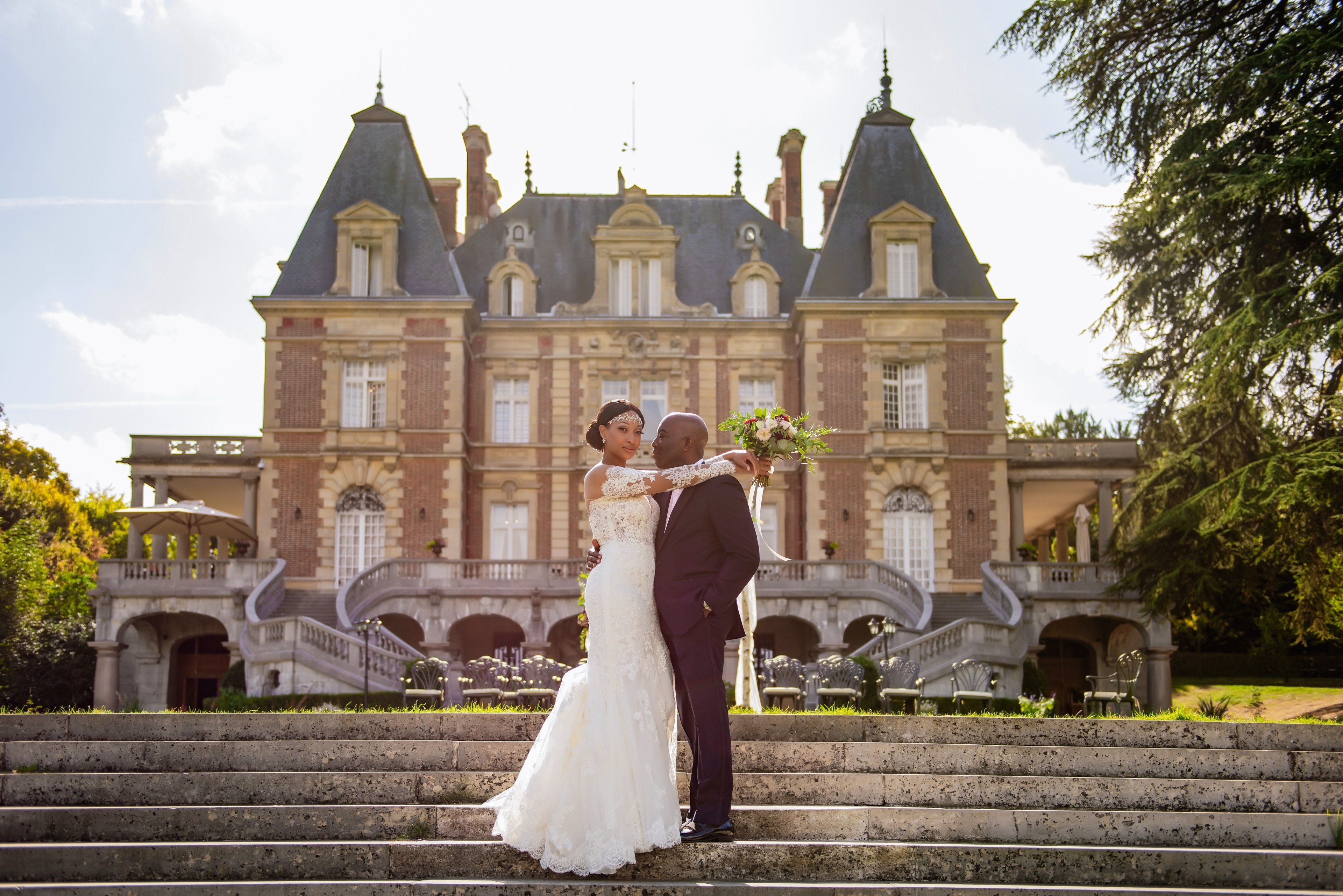 Bridal Bliss:  Lena and Adrian's Parisian Wedding Wins The Day