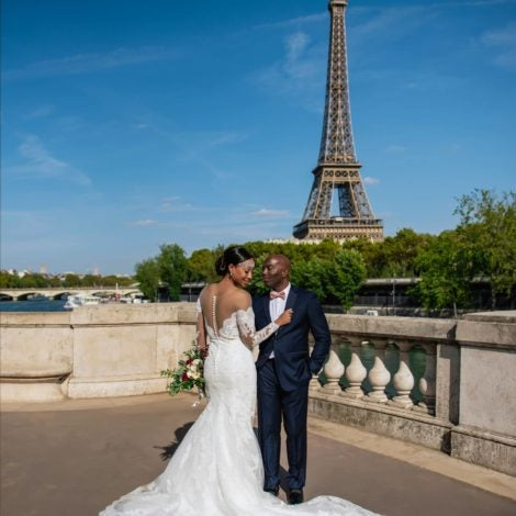 Bridal Bliss:  Lena and Adrian's Parisian Wedding Wins The Day