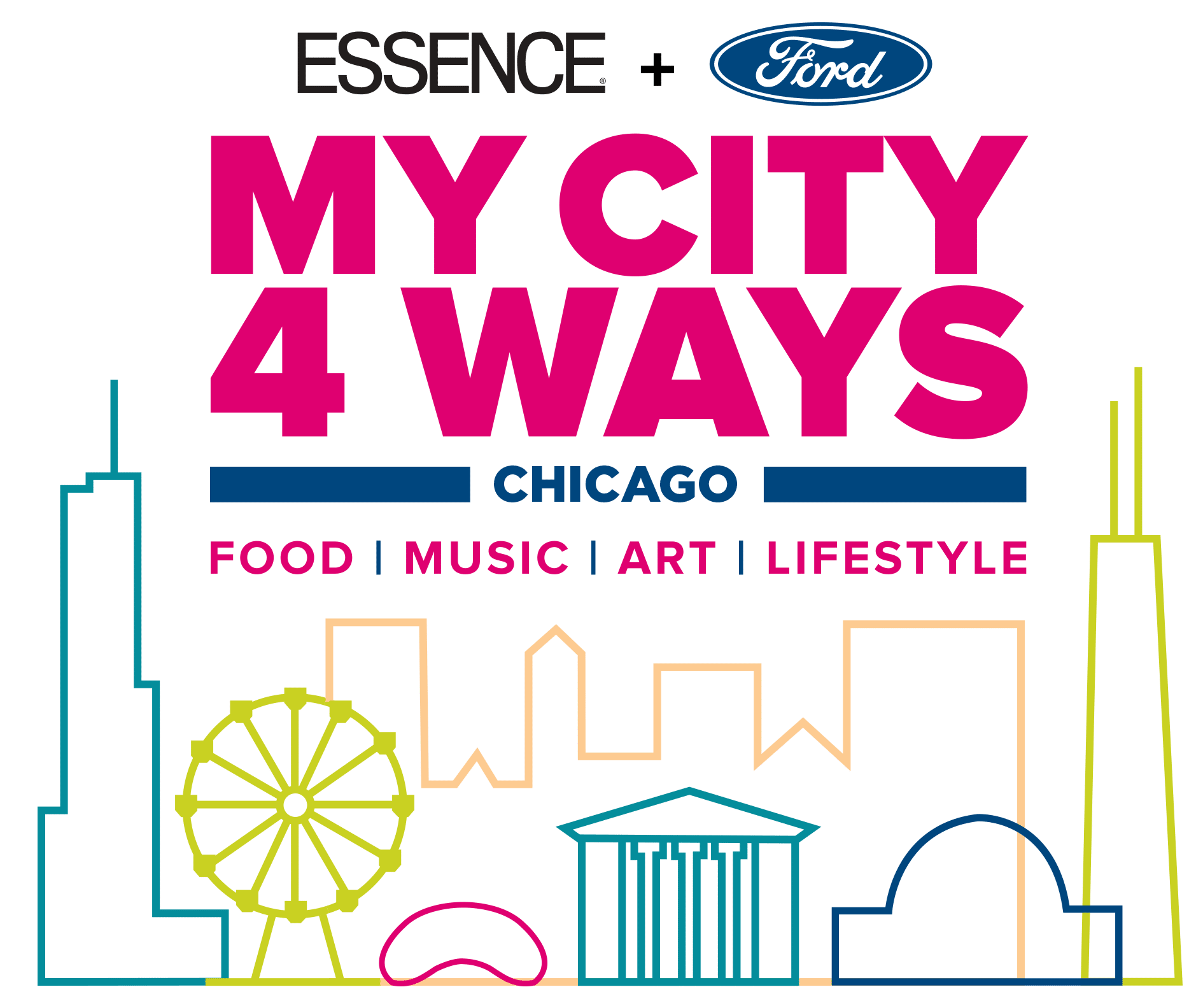 My City 4 Ways Chicago