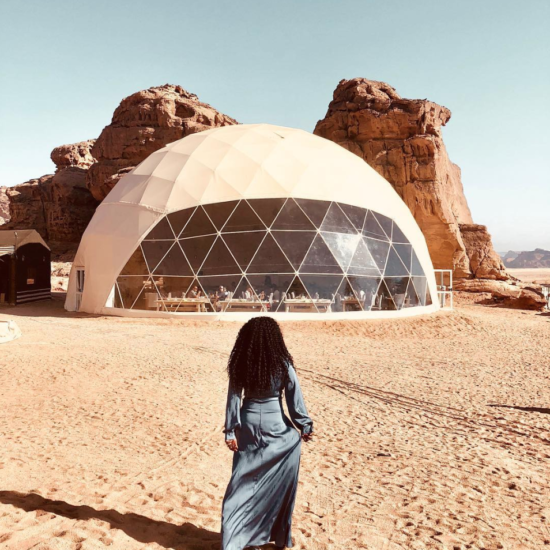 Black Travel Moment of the Day: This Woman's Jordan Adventure Was E-P-I-C