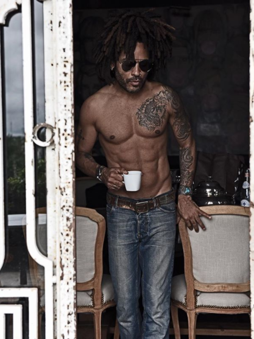 8 Times Lenny Kravitz Appeared On Our Feed and Effortlessly Took Our Breathe Away