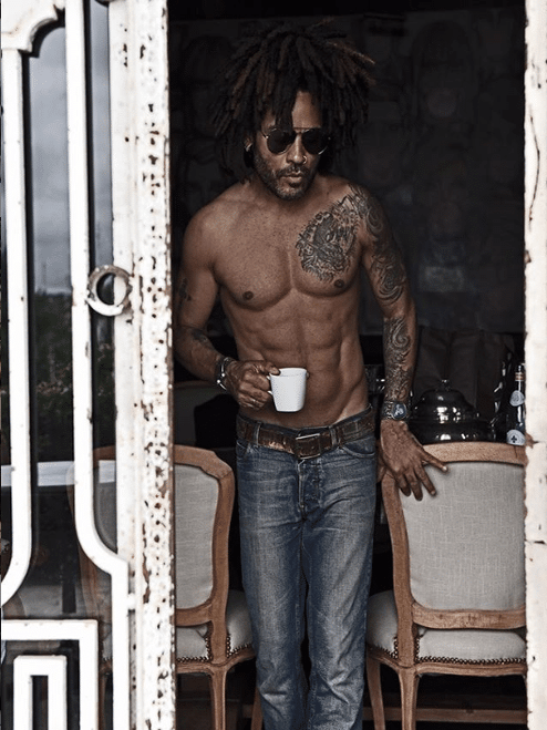 8 Times Lenny Kravitz Appeared On Our Feed and Effortlessly Took Our Breath Away