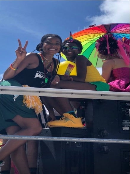 The Wades Shared the Love At  Miami Pride