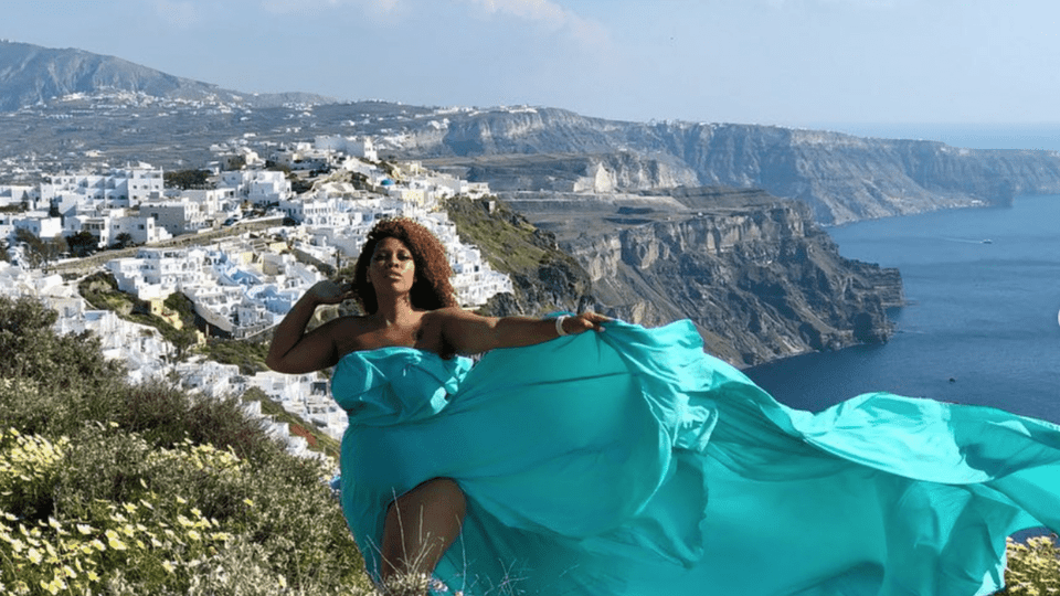 Black Travel Vibes: Santorini Needs to Top Your Summer Travel List