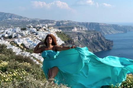 Black Travel Vibes: Santorini Needs to Top Your Summer Travel List