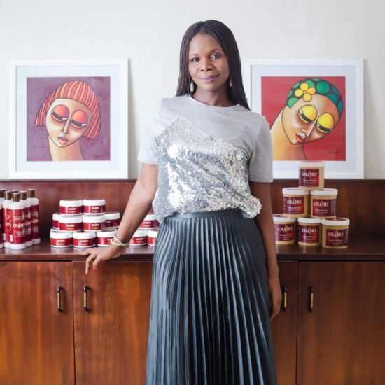 Founder Of Olori Cosmetics Shares Her Family Beauty Secrets That Started The Company