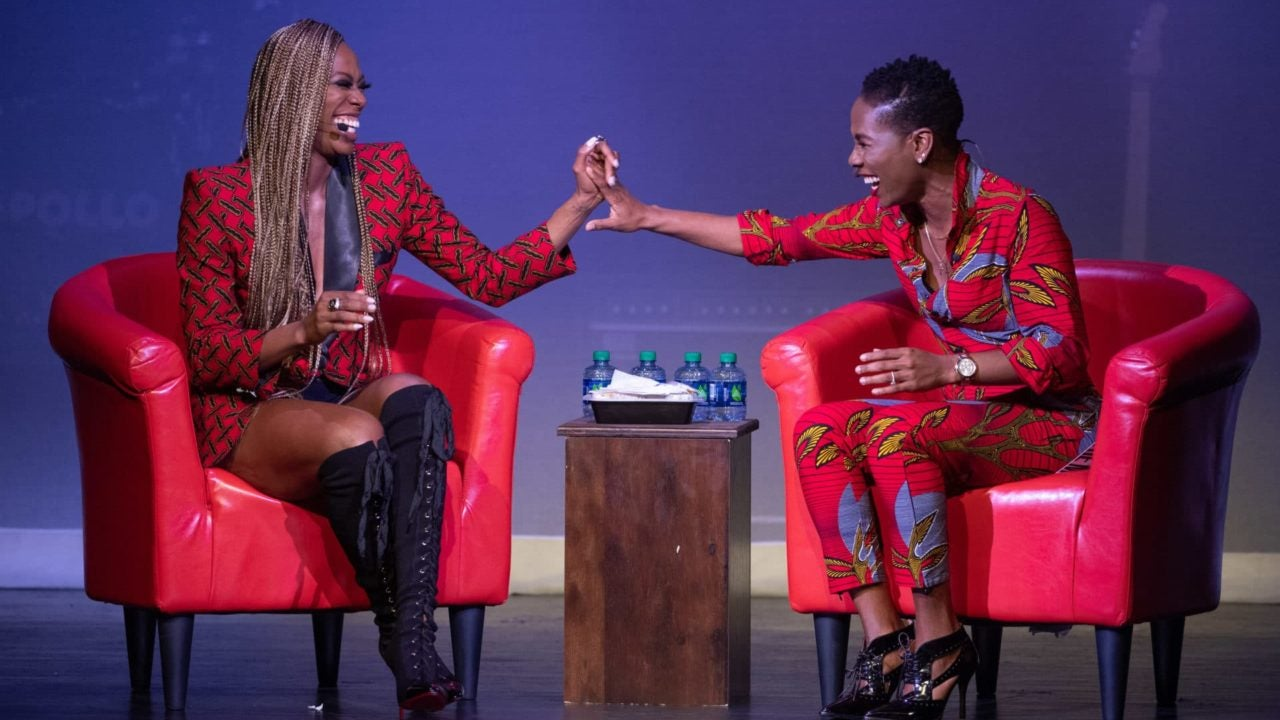 Jesus & Jollof Take Harlem: Everything You Missed From Luvvie Ajayi & Yvonne Orji's Sold-Out Show At The Apollo - Essence