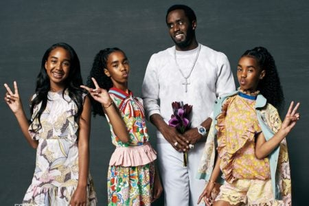 Diddy and Daughters Grace The Cover of ESSENCE As He Opens ...