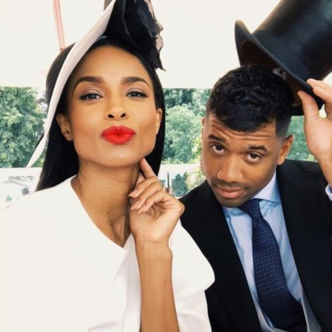 Ciara Braids Russell Wilson's Hair For Easter