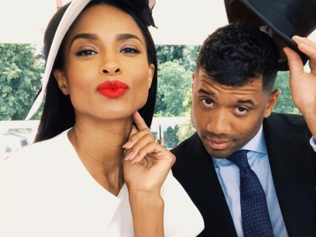 MUST SEE: Ciara Braids Russell Wilson's Hair For Easter