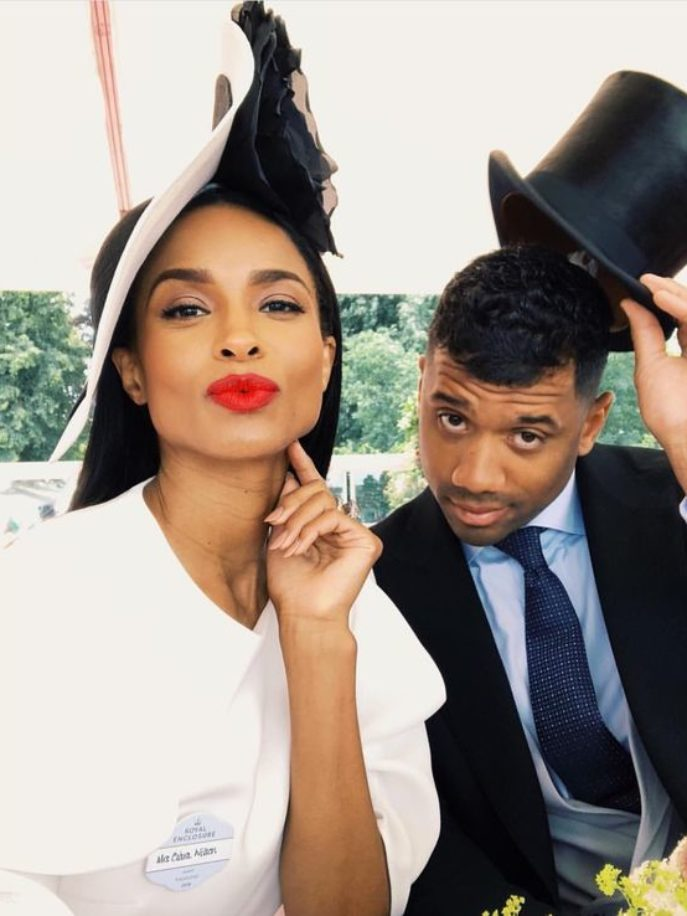 Ciara Braids Russell Wilson's Hair For Easter - Essence