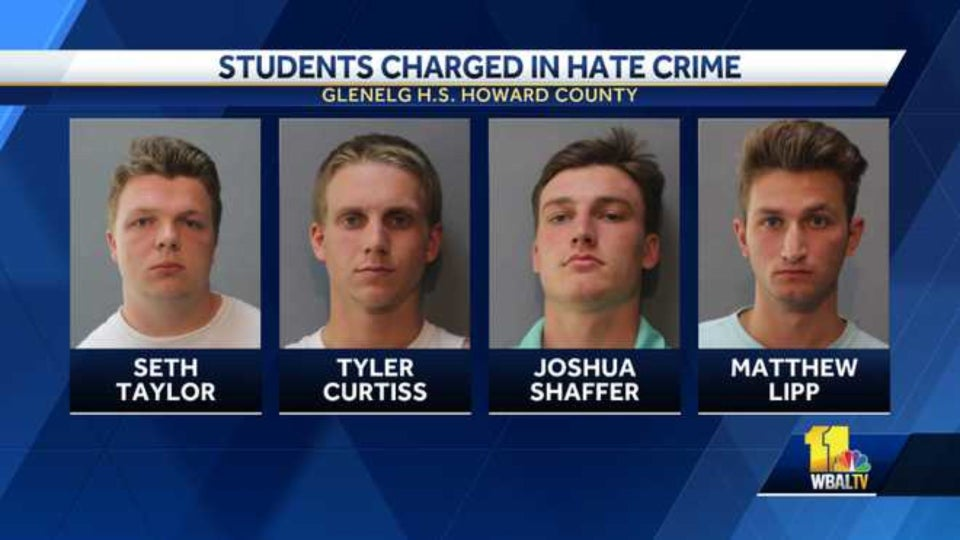 2 Maryland Men Sentenced To Weekends In Jail After Spray-Painting Hateful Graffiti Across High School Campus