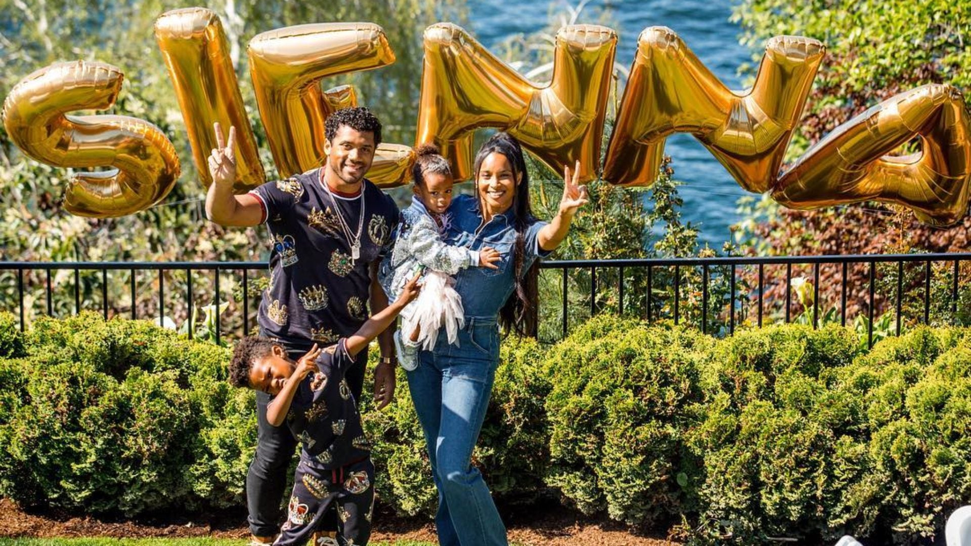 Aww! Ciara and Russell Wilson Celebrate Their Daughter Sienna's 2nd Birthday