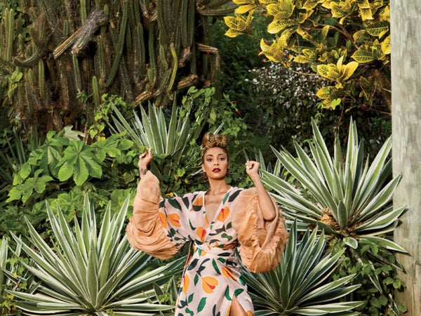 Amanda Seales Gets Gorgeous in Grenada For Our June Fashion Feature