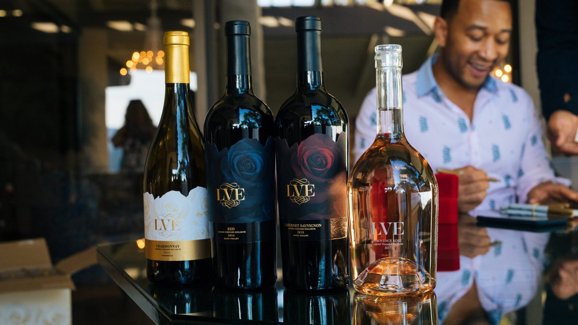 Sip Rosé This Memorial Day Weekend With John Legend and LVE Wines
