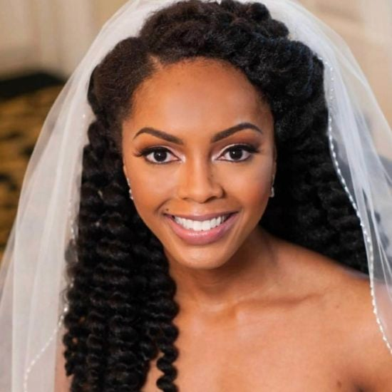13 Natural Hairstyles For Your Wedding Day Slay