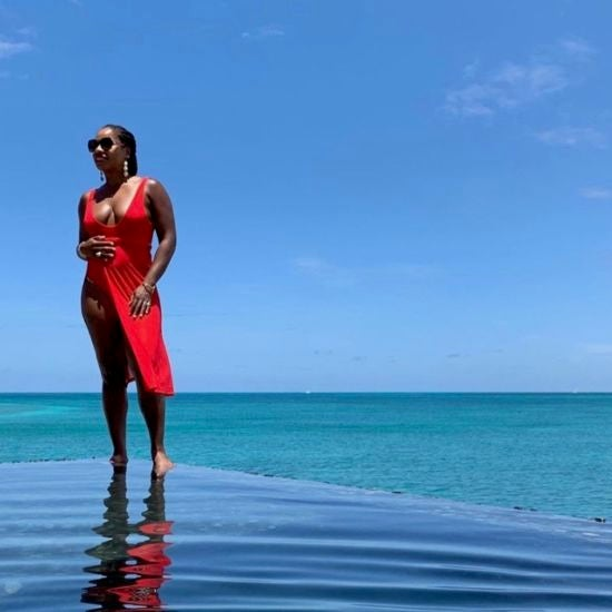 Black Travel Vibes: Take a Dip in the Endless Blue Waters of Antigua