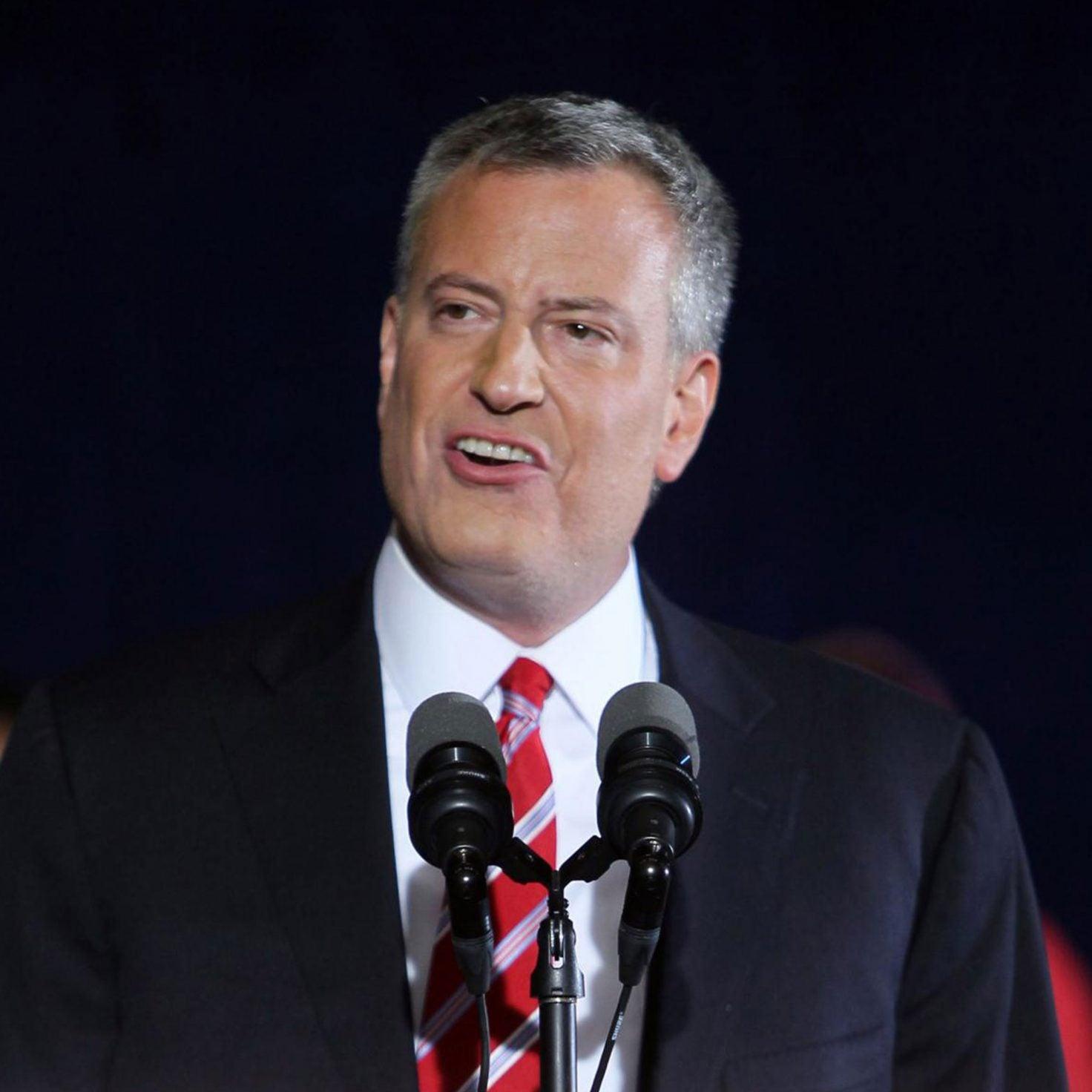 New York City Mayor Bill De Blasio Joins 2020 Presidential Race