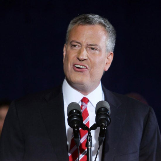 New York City Mayor Bill De Blasio Joins 2020 Presidential Race
