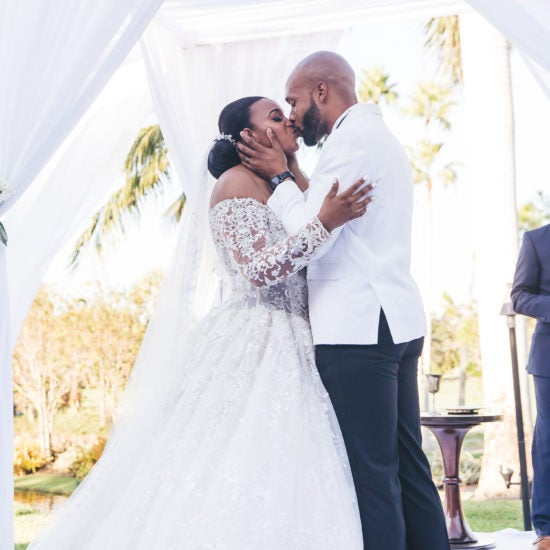 Bridal Bliss: Kareem and Sandy's Heavenly Ceremony Was Picture-Perfect