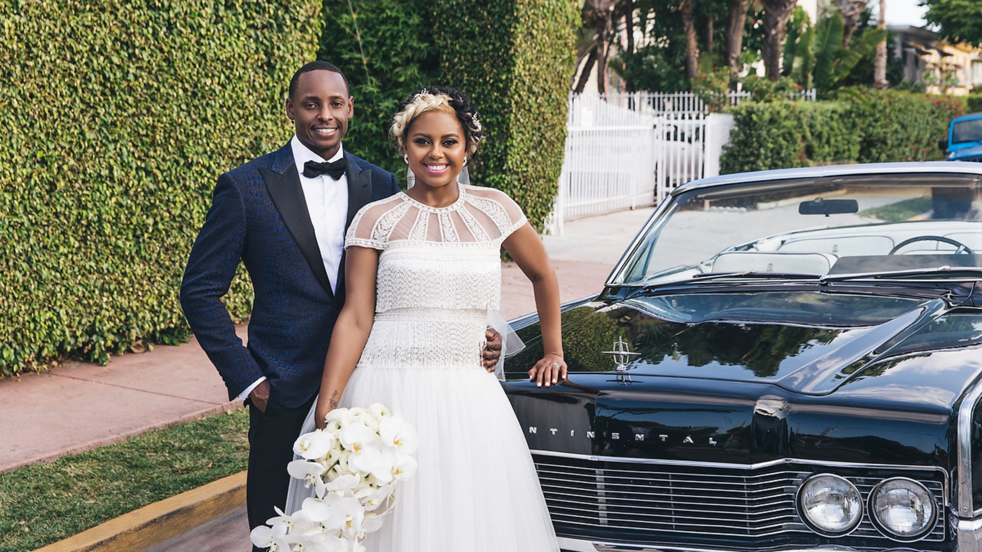 Bridal Bliss: Brooke and Layne's White-Hot Miami Wedding Was A Real Showstopper