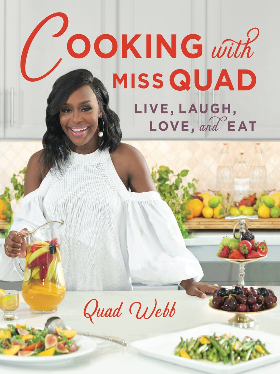 'Sister Circle' Host Quad Webb Dishes on How Her Mom Inspired Her New Cookbook