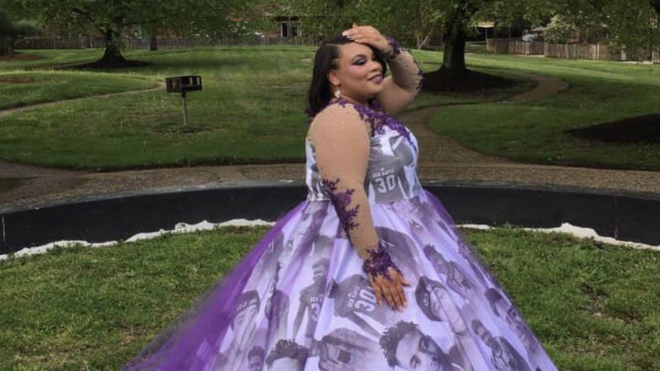 Indiana Teen Honors Brother Killed In Shooting With Stunning Prom Dress