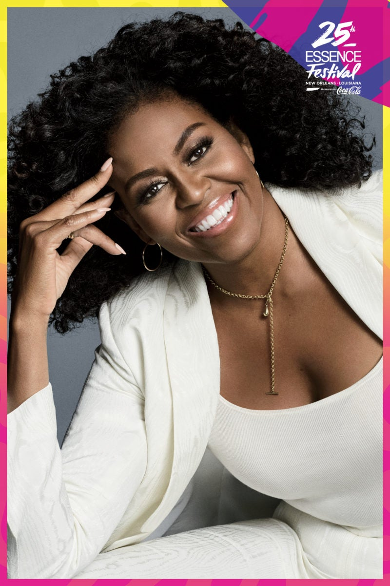 Image result for Michelle Obama Joins 2019 ESSENCE Festival Superdome Lineup