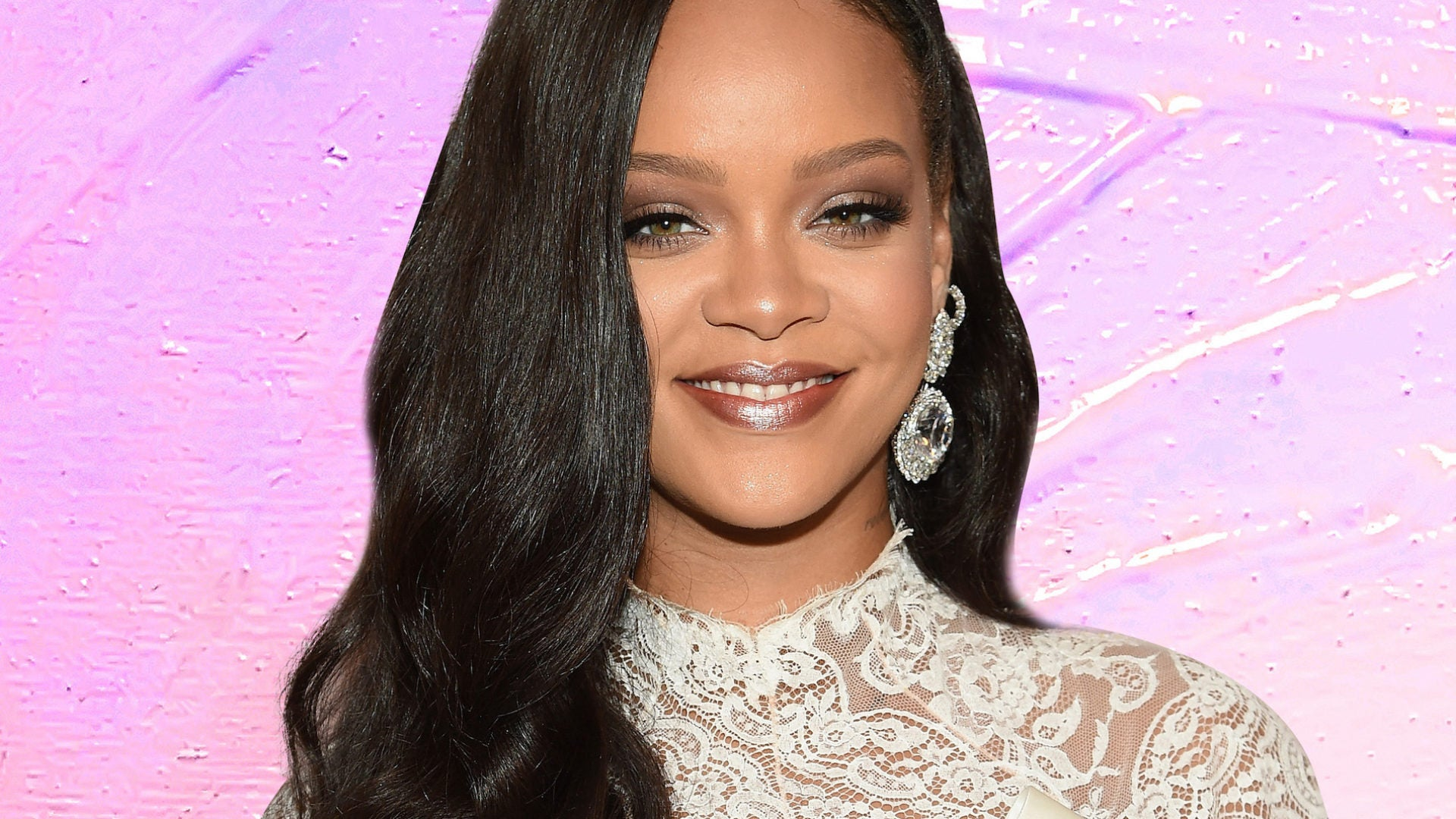 Rihanna's Lavender Jade Nails Will Make You Want To Realign Your Chakras