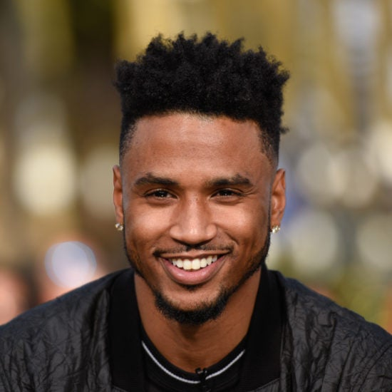 Trey Songz Posts Adorable Photo With His Newborn Son, Noah
